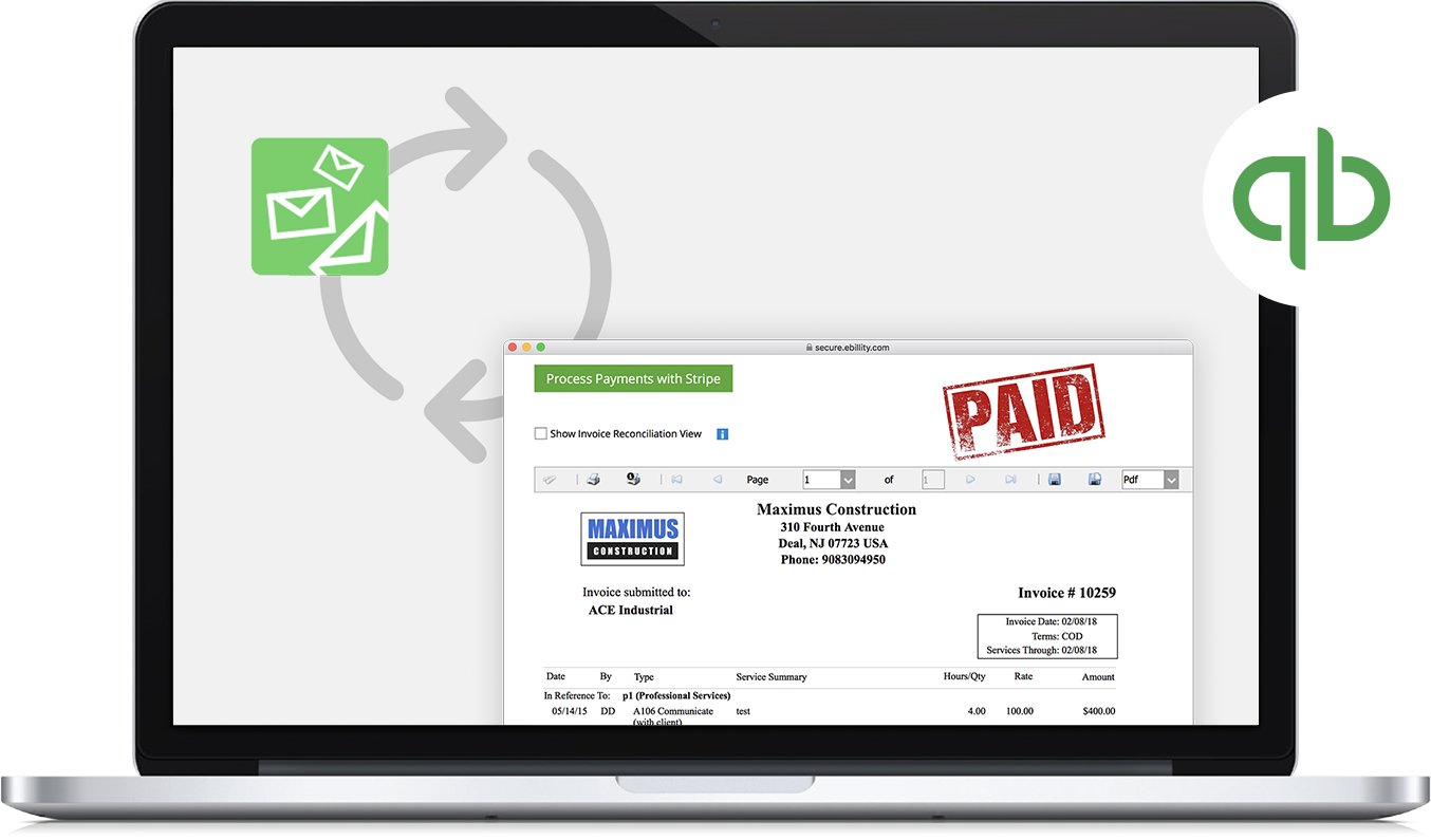 Invoice Tracker For Quickbooks Get Paid Faster With Automated - Quickbooks invoice reminders